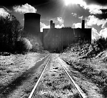 Abandoned Powerstation, Co Kildare, Ireland. by 2cimage