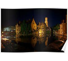 Night in Bruges Poster