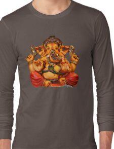 Lord Ganesha T-Shirt Long Sleeve T-Shirt