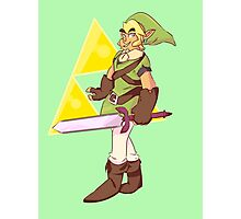 The Legend of Zelda Link Design Photographic Print