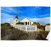 Point Loma Lighthouse Poster