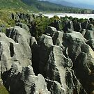 Pancake Rocks at Punakaiki by orkology