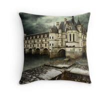 Chateau de Chenonceau France Throw Pillow