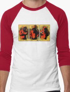 Three Men's Baseball ¾ T-Shirt