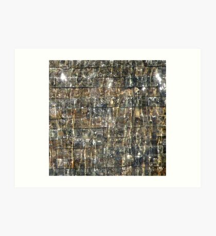 Waterwall 2 Art Print