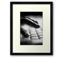 Typographical Error Framed Print