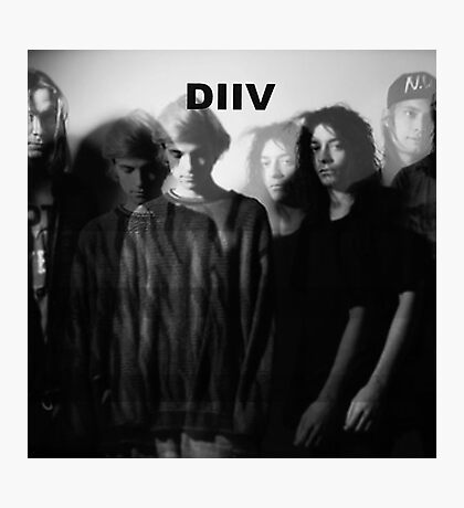 DIIV Band Photo 2 Photographic Print