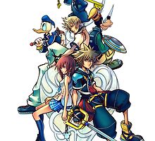 Kingdom Hearts by AnticChii