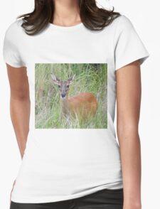Beautiful Deer Womens Fitted T-Shirt