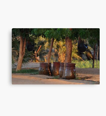 Sudanese Folklore  Canvas Print