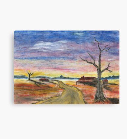 Desert Pastel Canvas Print