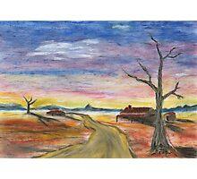 Desert Pastel Photographic Print
