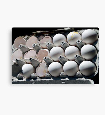 Eggs! Canvas Print