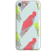 Pale Parrot iPhone Case/Skin