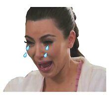 Kim Kardashian Crying - Emoji by IMadeUReadThi