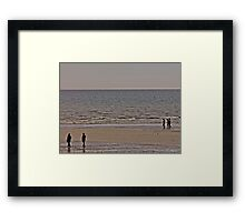 Desolate Shore Framed Print