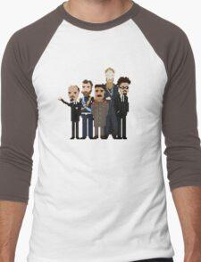 Russia Men's Baseball ¾ T-Shirt