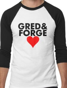 Gred and Forge Men's Baseball ¾ T-Shirt