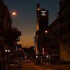 Coliseu, Porto at dusk by Mark Bangert