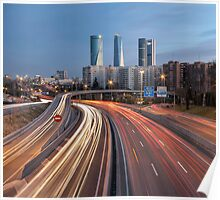 The Veins Of Madrid: M-607 Highway  Poster
