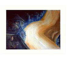 The road of imagination Art Print