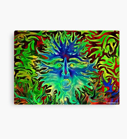 Psychedelic Sunshine Canvas Print