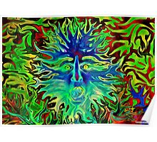 Psychedelic Sunshine Poster