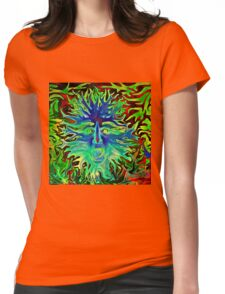 Psychedelic Sunshine Womens Fitted T-Shirt
