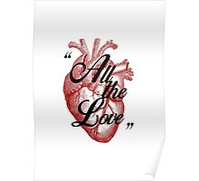 All The Love. Poster