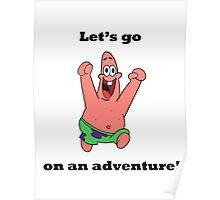Patrick - Happy Poster