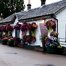Cottages in Luss, Scotland by ElsT