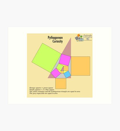 Pythagorean Curiosity Art Print