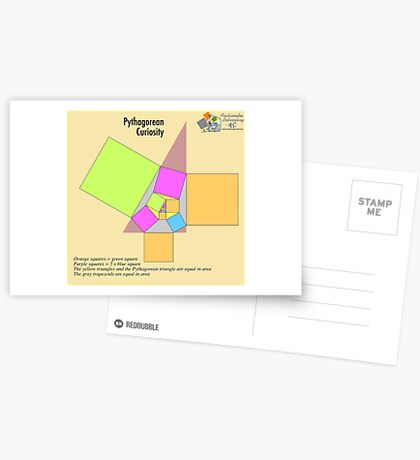 Pythagorean Curiosity Postcards