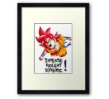 (DRAGONBALL SUPER) Fainal Super Saiyan Framed Print