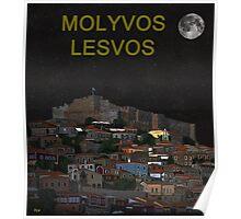 The Scream World Tour Molyvos Lesvos Greece MOLYVOS Poster