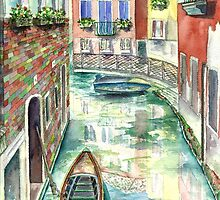 Venice Waterway by mleboeuf