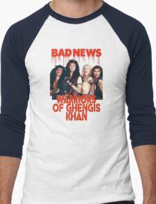 Bad News (Warrior of Ghengis Khan Men's Baseball ¾ T-Shirt