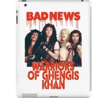 Bad News (Warrior of Ghengis Khan iPad Case/Skin