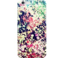Trendy Modern Floral Collage iPhone Case/Skin
