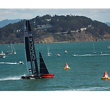 """""""USA Wins the America's Cup"""" Photographic Print"""