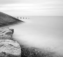 BISPHAM SEA FRONT LONG EXPOSURE by Phil  WEBB
