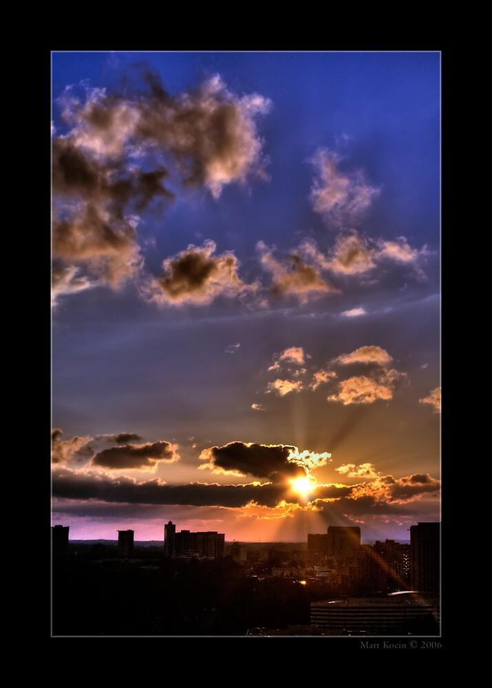 Sunset - Atlanta, Georgia by Matthew Kocin