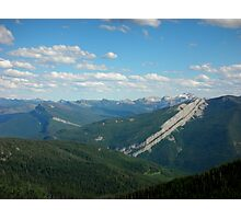 Schafer Creek Trail- Great Bear WIlderness, Montana Photographic Print