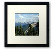 Schafer Creek Trail- Great Bear Wilderness, Montana Framed Print