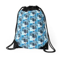 Cool Vase Drawstring Bag