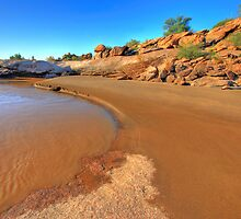 Sand bank by Rudi Venter