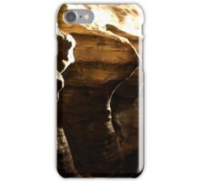 Horizontal Points iPhone Case/Skin