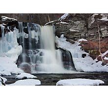 Sheldon Reynolds Breaks Through Winter Photographic Print