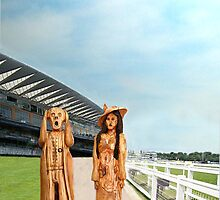 The Scream World Tour with Fashion Ascot Races by Eric Kempson