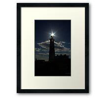 Portland Bill - lighthouse Framed Print